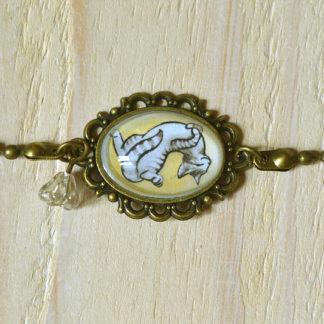 Bracelet Chat Plume