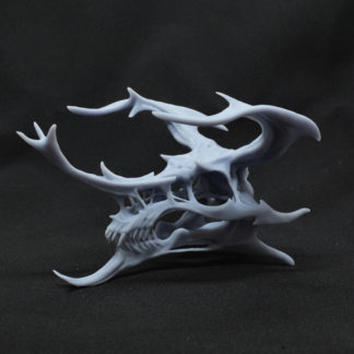 Kabuto, crâne de dragon à peindre